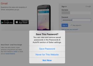 AutoFill Password Safari iOS 7