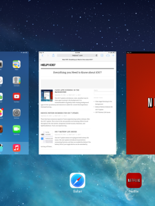 Close App iOS 7