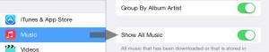 Remove a Song iOS 7